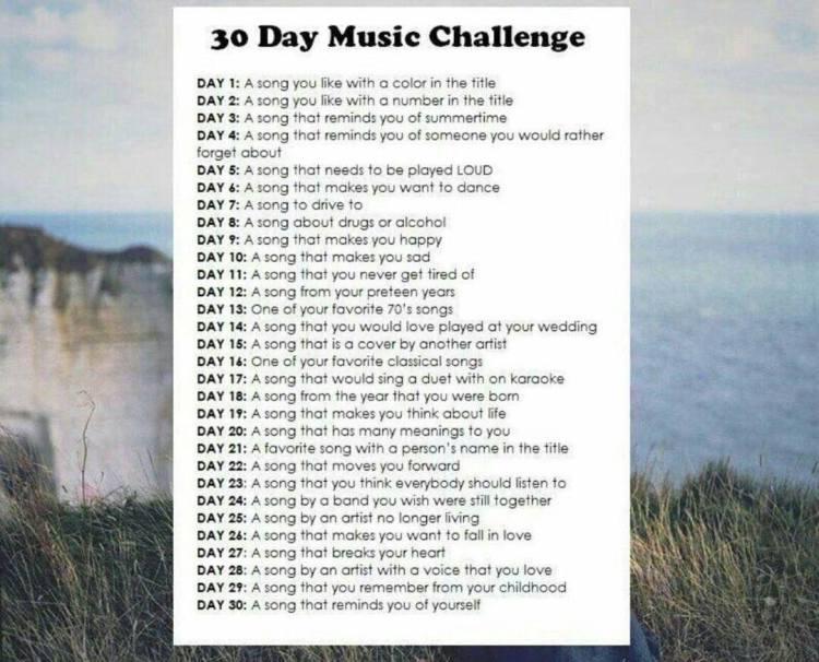 music challenge